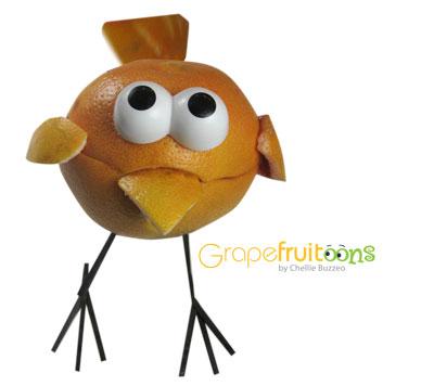 Grapefruit bird