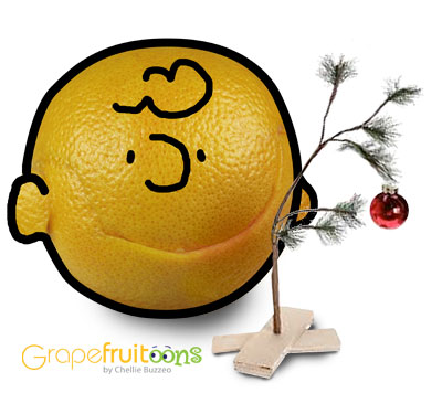 grapefruit Charlie Brown