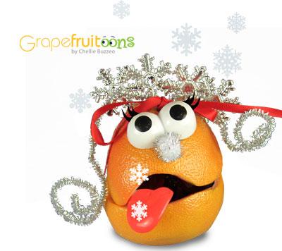 Grapefruit Snow Queen