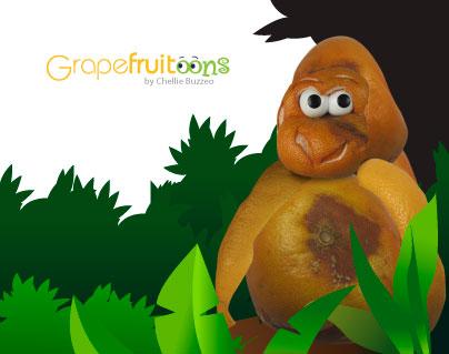 grapefruit gorilla