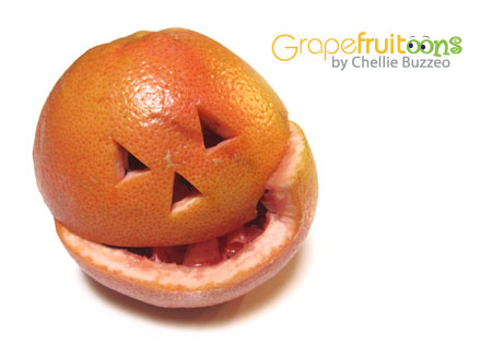jack-o-latern grapefruit