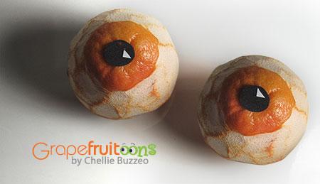 grapefruit eyeballs