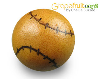 baseball grapefruit