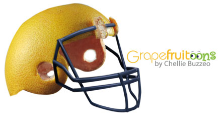 grapefruit helmet
