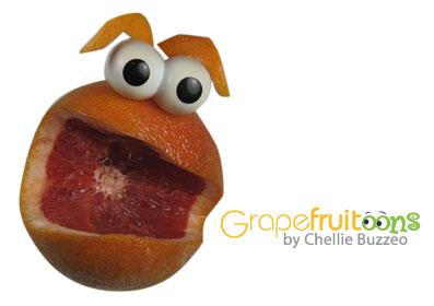 Grapefruit Face